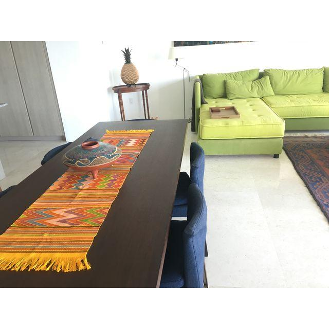 Zinacantan Yellow Table-runner