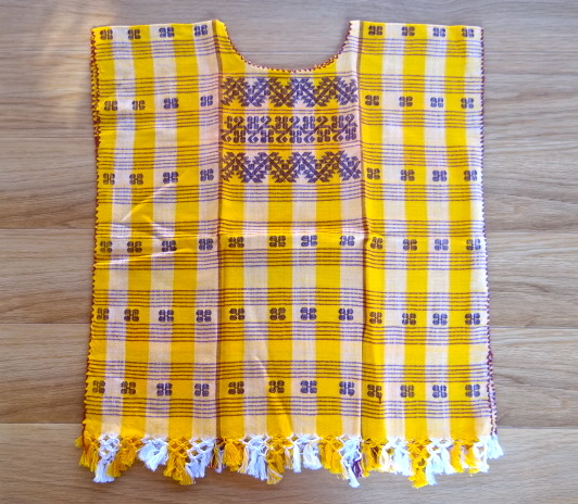 Yellow Blouse Huipil for Kid