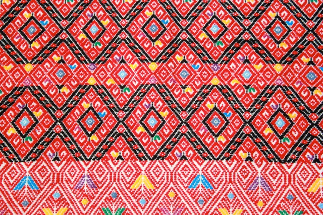 Chiapas Colorful Table-runner