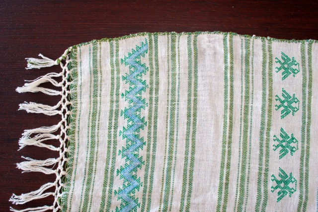 Acapulco Rebozo Table-runner