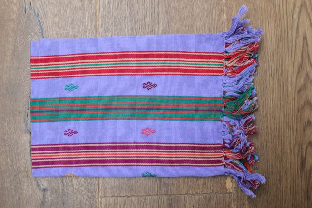 Chiapas Colorful Placemats/Handtowels (Set of 2)