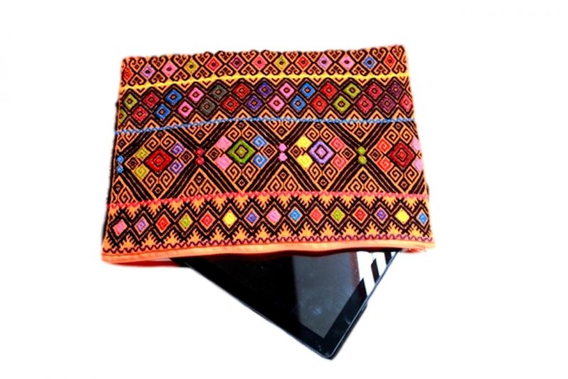 Mexican Red Cotton Pouch