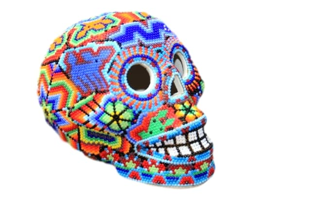 Huichol Skull Medium Size
