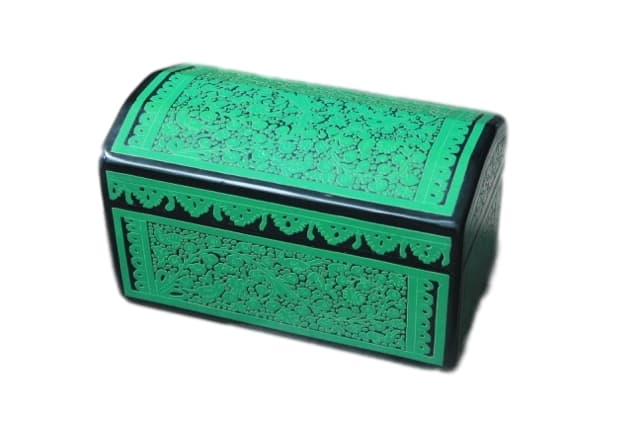 Olinala Wooden Green Box