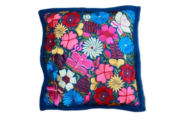 Embroidered Pillow Teotitlan III