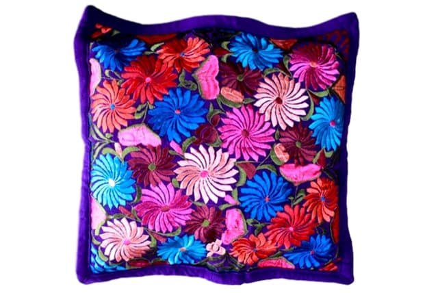 Embroidered Pillow Teotitlan II