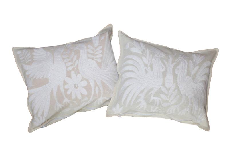 White Otomies Pillows (Set of 2)