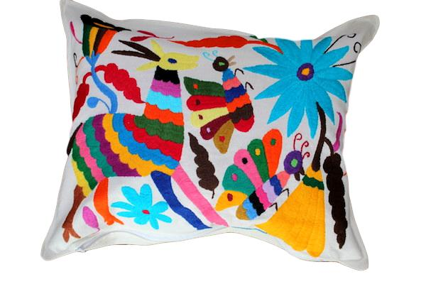 Multicolor Otomi Pillows 1