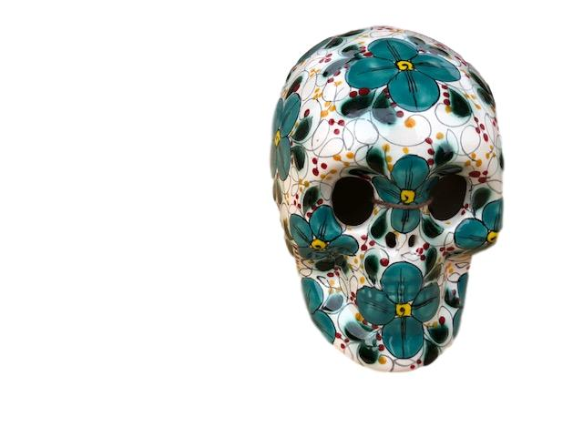 Sugar Ceramic Mexican Skull II