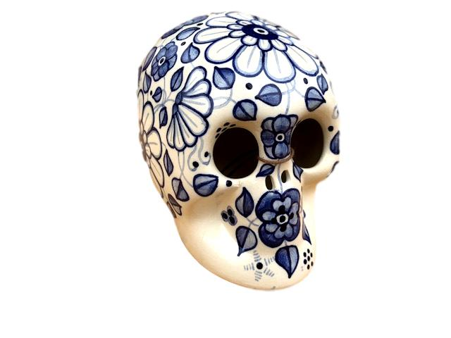 Sugar Ceramic Mexican Skull