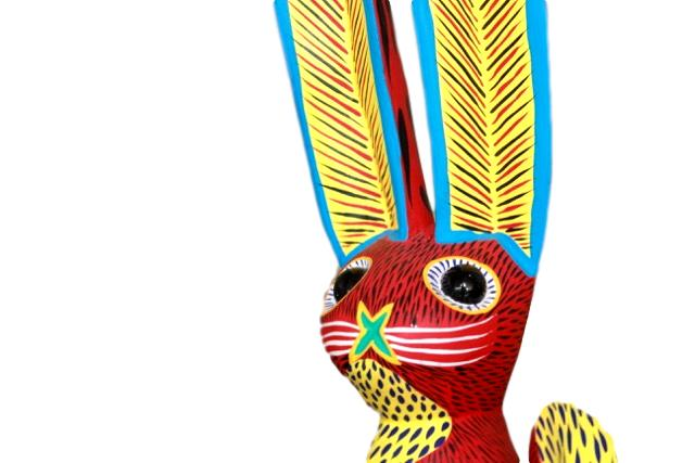 Rabbit Alebrije from Oaxaca