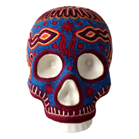 High Quality Huichol Skull VI