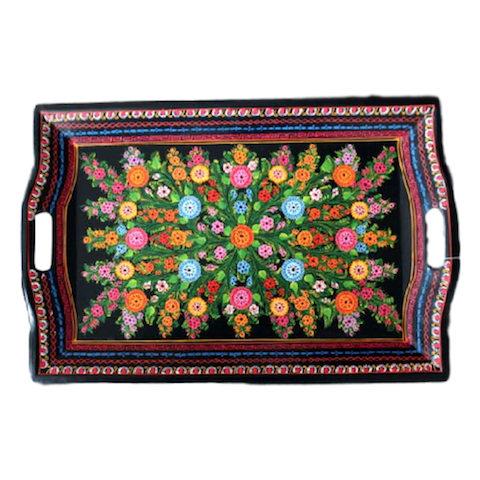 Big Floral Olinala Tray